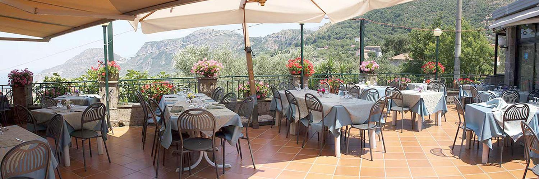 Panorama dal terrazzo del Ristorante Pizzeria Zio Sam Sorrento