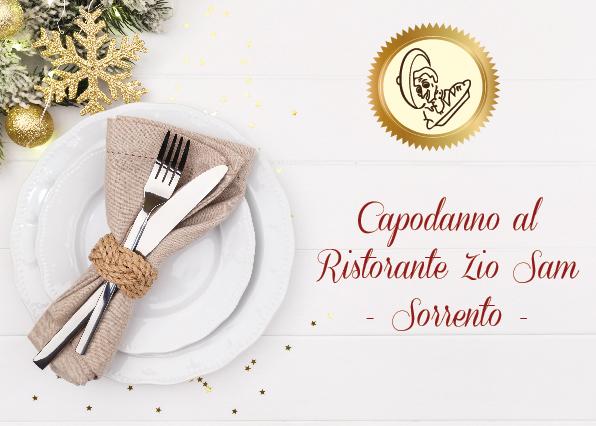Capodanno al Ristorante Zio Sam - Sorrento