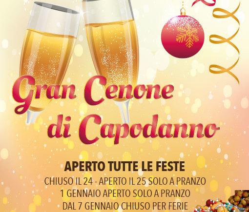Gran Cenone di Capodanno 2014 al Ristorante Pizzeria Zio Sam
