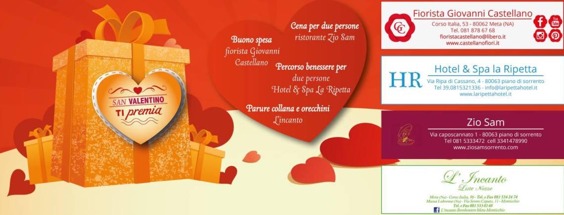 Il Ristorante Zio Sam a San Valentino ti premia